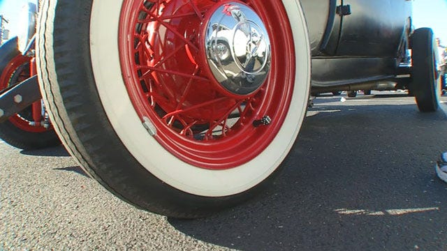 Red Dirt Diaries: Classic Car Lovers Gather Once A Month In OKC