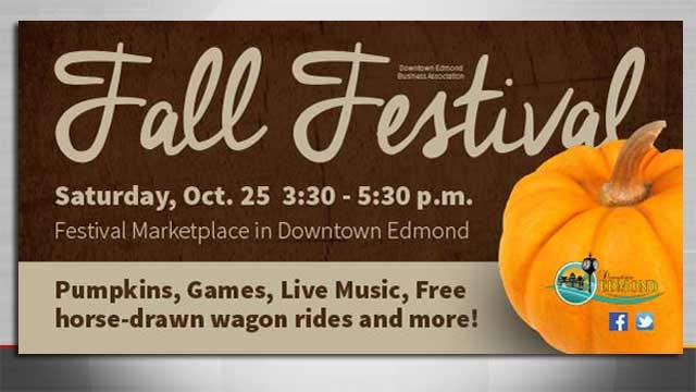 Downtown Edmond Hosts Old-Fashioned Fall Festival