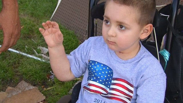 Benefit Held For Seiling Boy Recovering From Accident