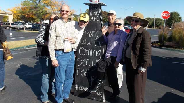 Frontier Country Hosts 2nd Annual Oklahoma Wine Walk In Norman