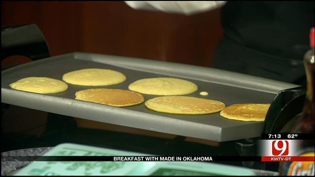 MIO: Cornmeal Pancakes