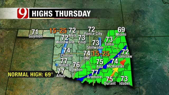Fall Weather Takes Hold In Oklahoma