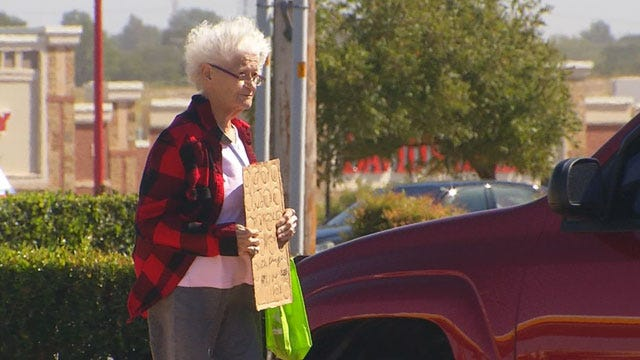 OKC Panhandler Confronted After Being Seen Driving New Car