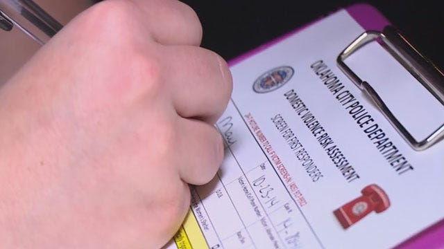 CBS News Features OKC Police's New Tool To Help Domestic Abuse Victims