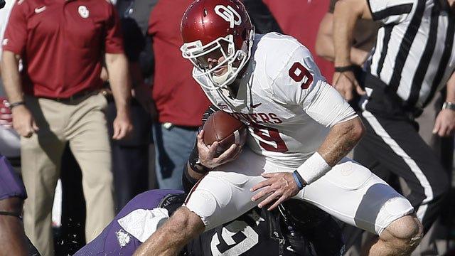 No. 4 Oklahoma Stunned By No. 25 TCU