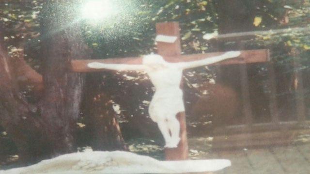 Stolen Stone Jesus Statue Returned To Edmond Church