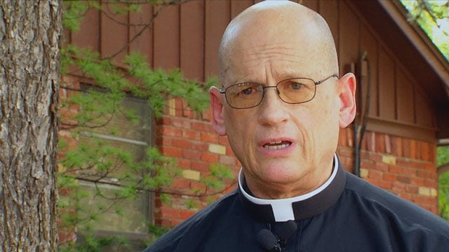 Edmond Catholics Rejoice After Jesus Statue Returned