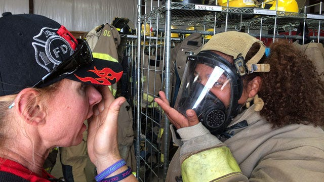 OKC Hosts Camp To Recruit Female Firefighters