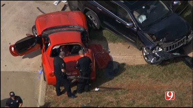Female Passenger Dies In Edmond Two-Vehicle Collision