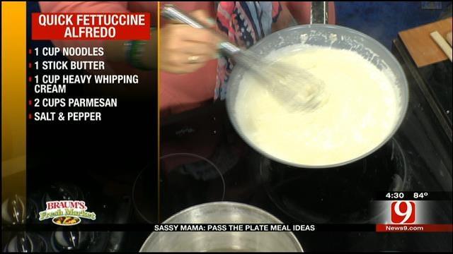 Quick Fettuccine Alfredo