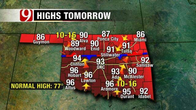 Record-Setting Heat Possible In OK, Ahead Of Another Cool Down