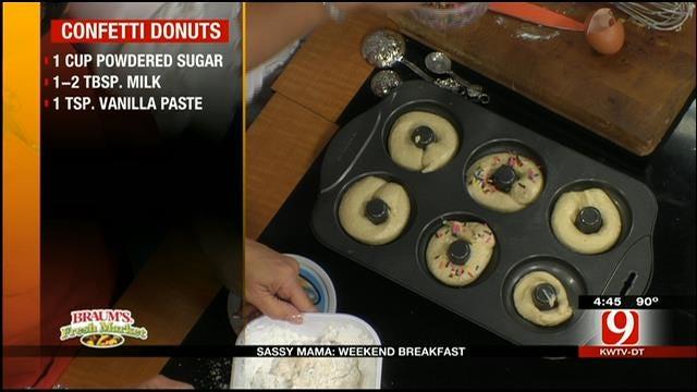 Confetti Donuts