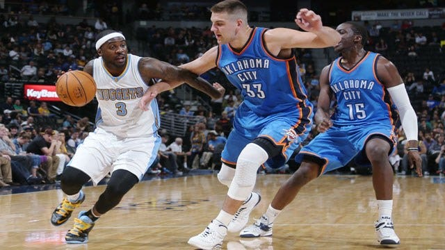 Thunder's McGary To Miss Six Weeks With Fractured Foot