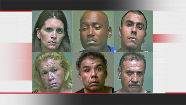 OKC Drug Sweep Lands Six Behind Bars, Including Murder Suspect