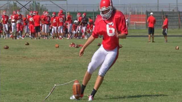 Powerhouse Female Kicker Plays For Lawton High School