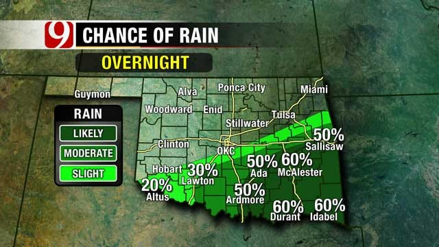 Second Cold Front Produces Isolated Showers, Storms
