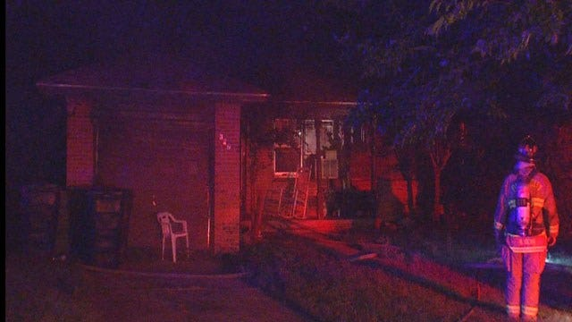 SE OKC Home Damaged In Early Morning Fire