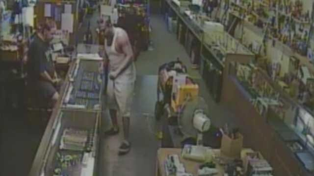 High Dollar Theft Suspect Caught On Camera In Warr Acres