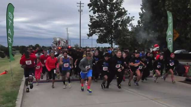 OKC Fire Hosts 'Project Life Run' To Raise Funds For Smoke Alarms