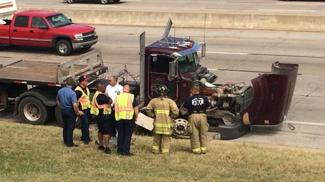 One Injured In Multi-Vehicle Accident In NW OKC
