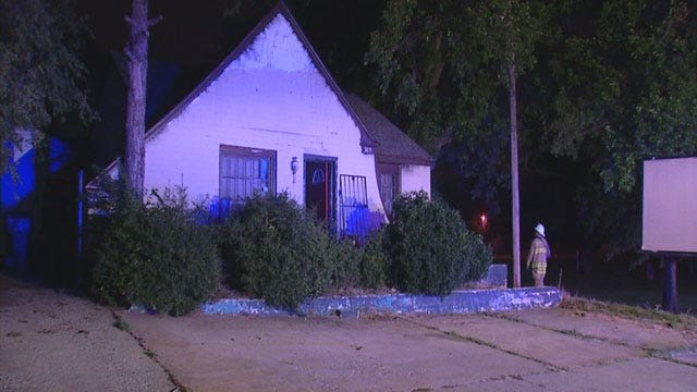 Officials Investigate Early Morning House Fire In OKC