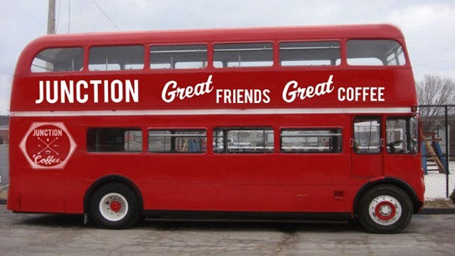 OKC Couple To Convert Double Decker Bus Into Mobile Coffee Shop