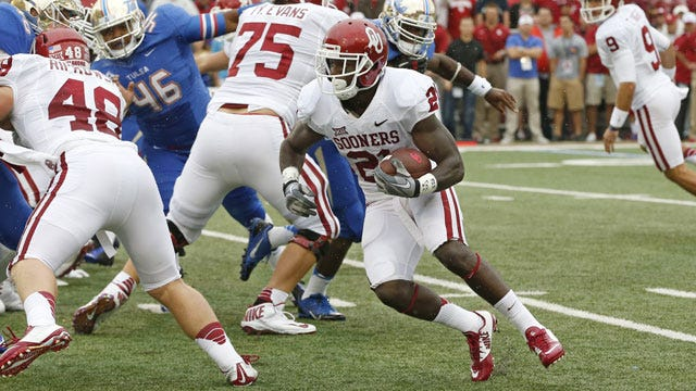 OU Running Back Keith Ford Out Due To Leg Fracture