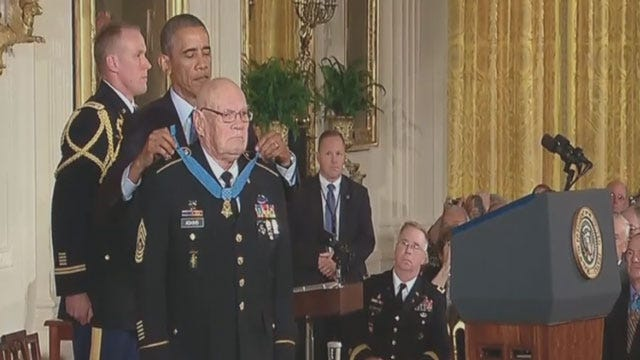 Two Oklahomans Receive Medal Of Honor On Monday