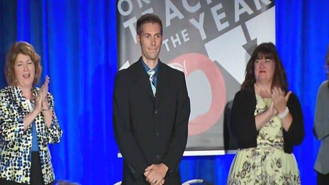 Tahlequah High School Teacher Named 2015 'Teacher Of The Year'