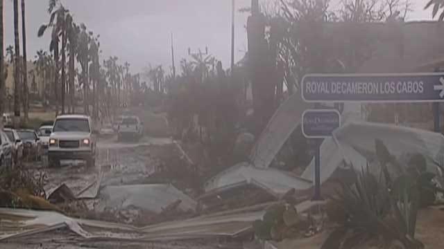 Hurricane Odile Leaves Oklahomans Stranded In Cabo