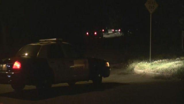 Manhunt Underway In NE OKC For Man Suspected Of Stealing Vehicle