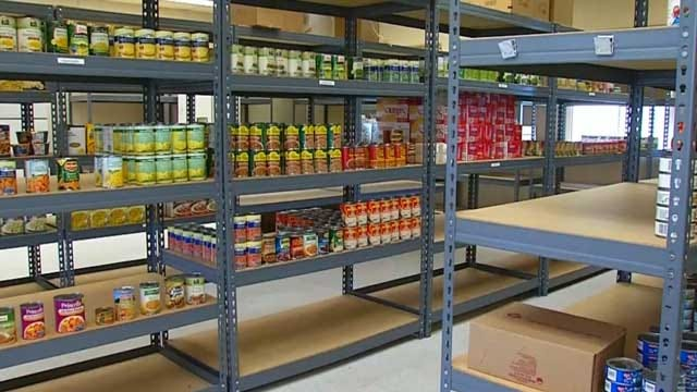 School Food Pantries Help Hungry Oklahoma Children