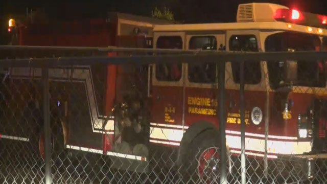 SW OKC Apartment Complex Evacuated For Small Fire