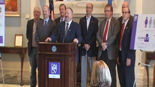 District Attorneys Take Stand Against Domestic Violence