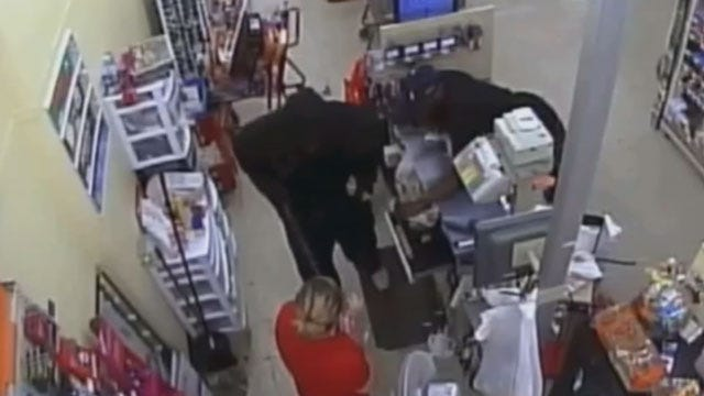 Surveillance Video Released Of Armed Robbery At OKC Family Dollar Store
