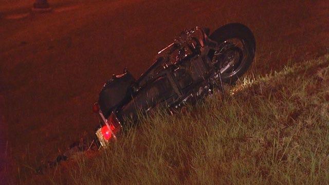Man Injured After Crashing Motorcycle In OKC