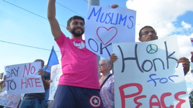 OKC Muslim Leaders Rally To Denounce ISIS