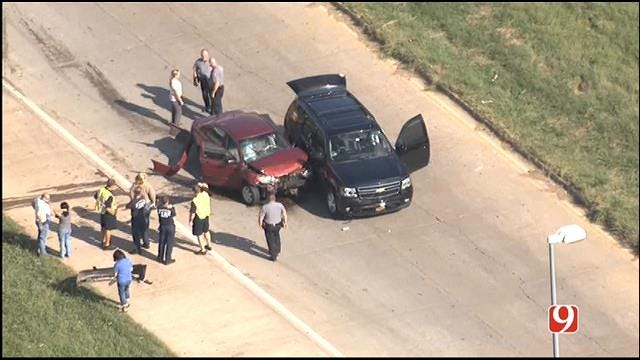 Traffic Alert: Two-Car Wreck Closes I-40 On-Ramp