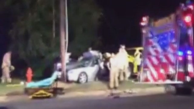 Two Killed In Two-Vehicle Collision In Del City