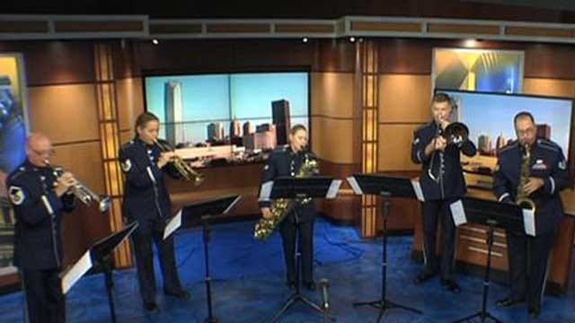 USAF's 'Dimensions In Blue' To Perform At OKC National Memorial And Museum