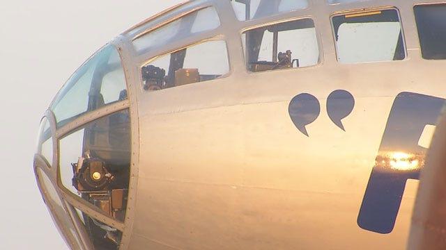 Veteran Reunited With B-29 In Oklahoma