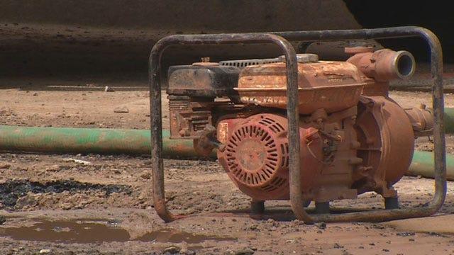 Water Main Break Disrupts Business In SW OKC