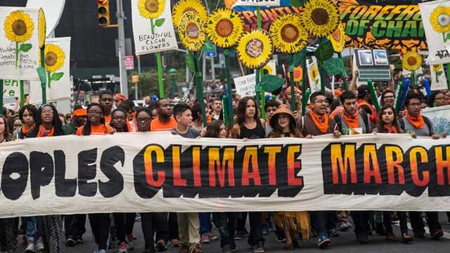 300,000 Marchers Ring Climate Warning Bell In NYC, Around Globe