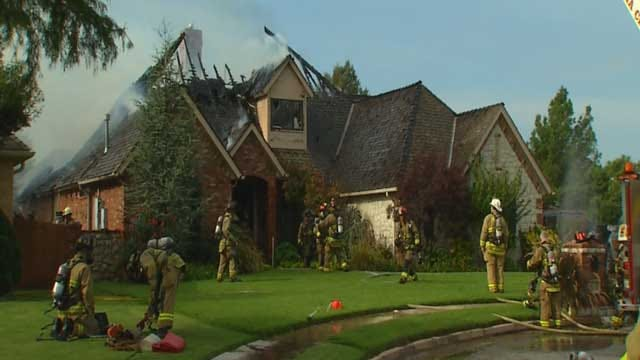 Crews Respond To House Fire In SW OKC