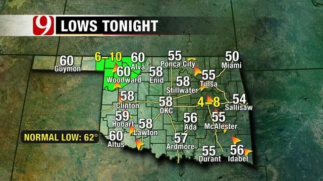 Rain Chances, Cool Weather Greet Oklahoma As Fall Arrives