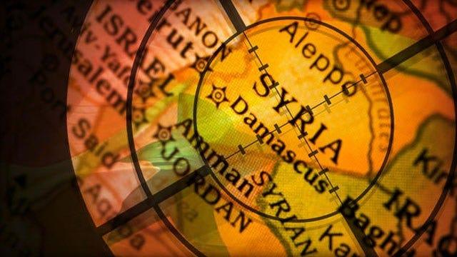 US Airstrikes Begin In Syria Against ISIS