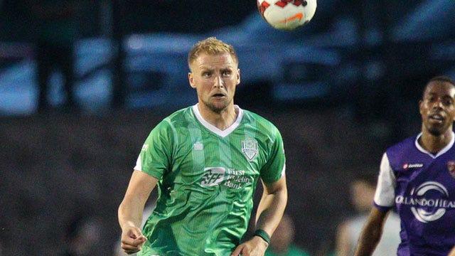 Energy FC's Evans Makes All-League Second-Team
