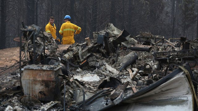 OKC Fire Chief To Tour Areas Affected By California Wildfires