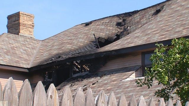 Fire In Upscale Bethany Neighborhood Called Suspicious