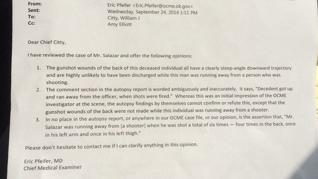 OKC Police Question ME's Autopsy Report For Man Who Killed K-9 Kye